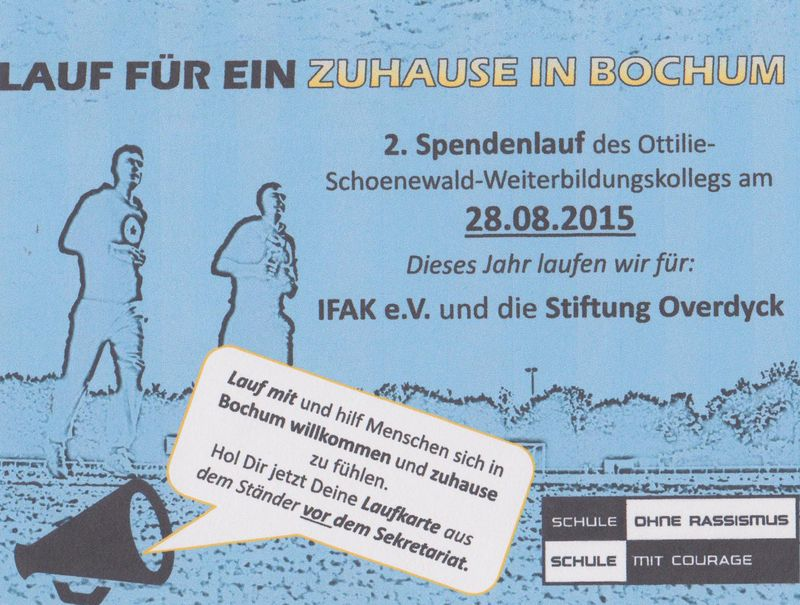 Sponsorenlauf 2015 Flyer